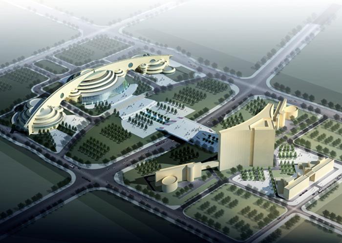 毕节试验区科技文化中心—毕节影剧院外墙亚博竞彩工