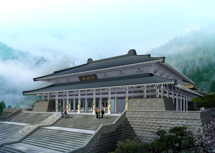 贵州花溪孔学堂建筑外亚博竞彩工程