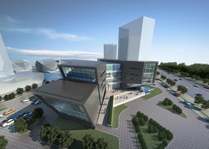 贵阳会展金融中心配套区体验中心外墙与屋面亚博竞彩